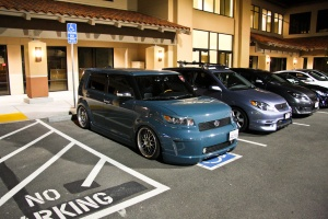 Scion xB tire size