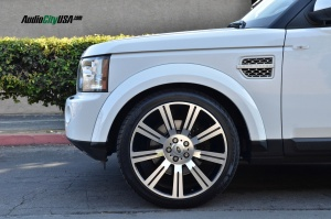 Land Rover LR4 tuning